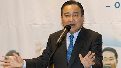 이완구 전 총리, 21대 총선 불출마 선언…'대통합 염원'