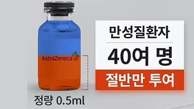 인천 병원서 40명에 AZ백신 절반만 투여…당국 '재접종 안해'