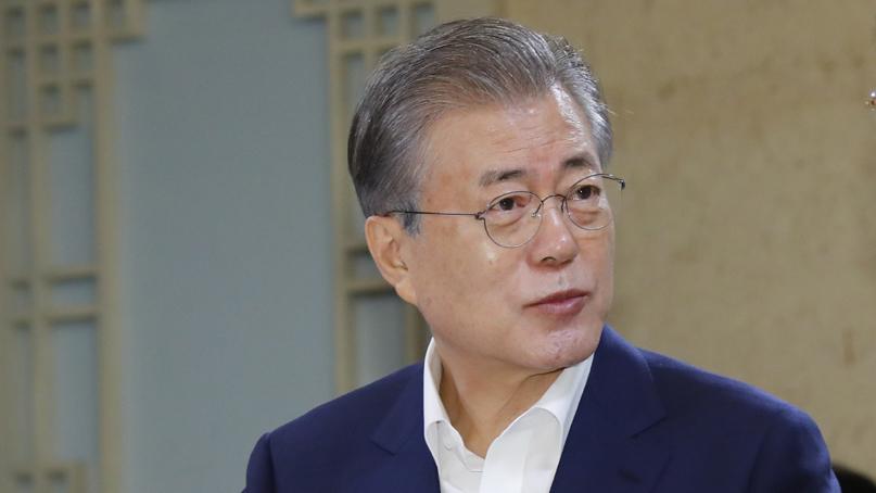 '反日 여론 확산에'…文대통령 지지율 50% 회복