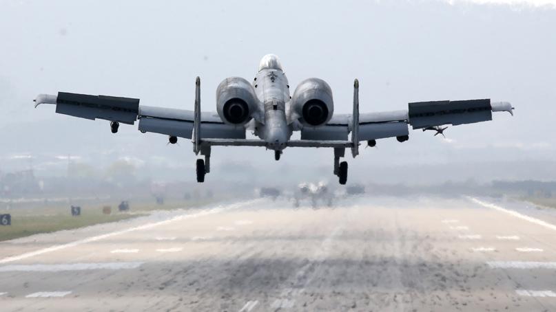 한미 연합공중훈련 연기…美 국방장관
