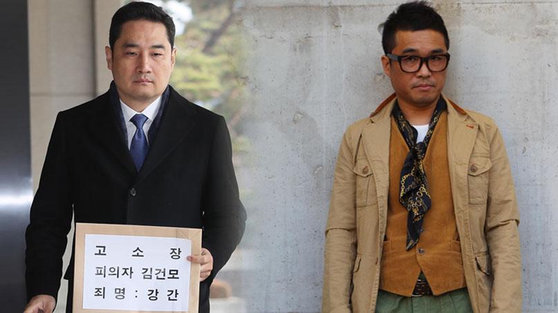 김건모 측 '성폭행 고소'女 무고로 맞고소…강용석 '적반하장'