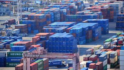 '코로나 19' 쇼크로 2월 수출 일평균 9.3% 감소
