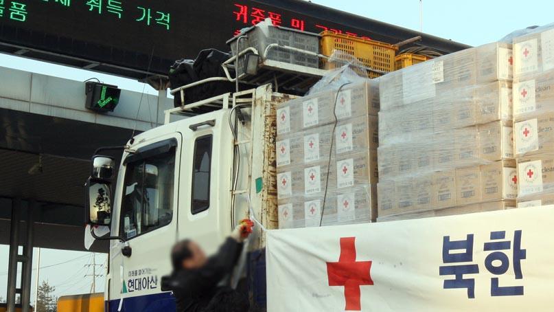 '1억원 어치 손소독제 北 지원'…정부, 코로나19 대북지원 첫 승인
