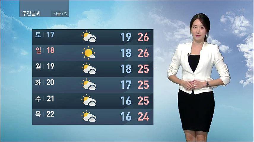 [9월 13일 오전 날씨] 귀성길 날씨 무난