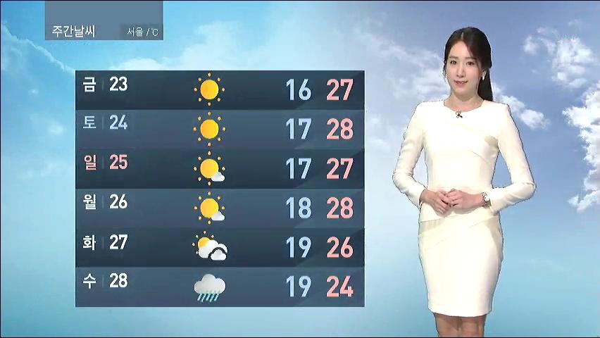 [9월 22일 오전 날씨] 오늘 추분…한낮 서울 27·광주 26도