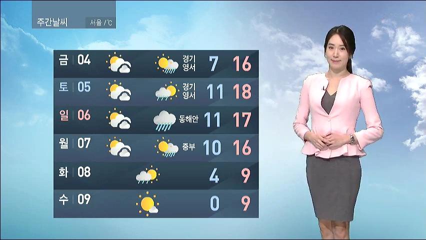 [11월 3일 오전 날씨] 추위 누그러져…서울·대전·대구 낮 15도