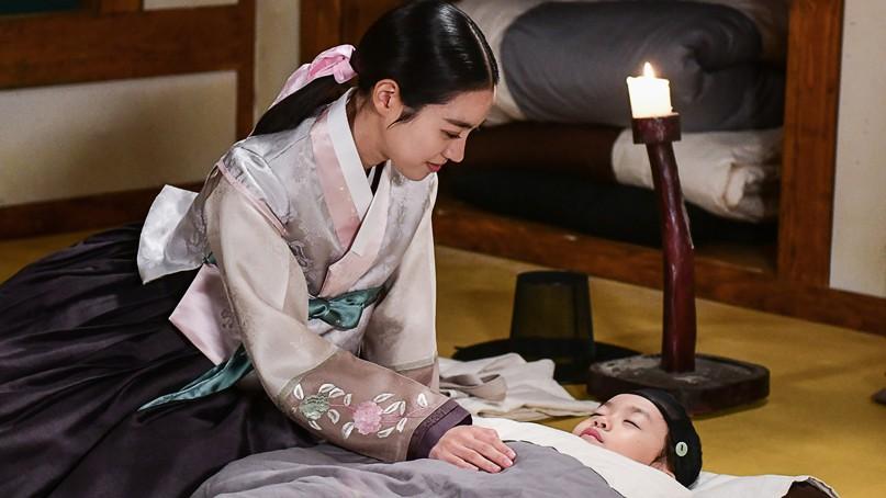 '대군' 진세연, 애기왕에 토닥토닥…따뜻한 '엄마미소'
