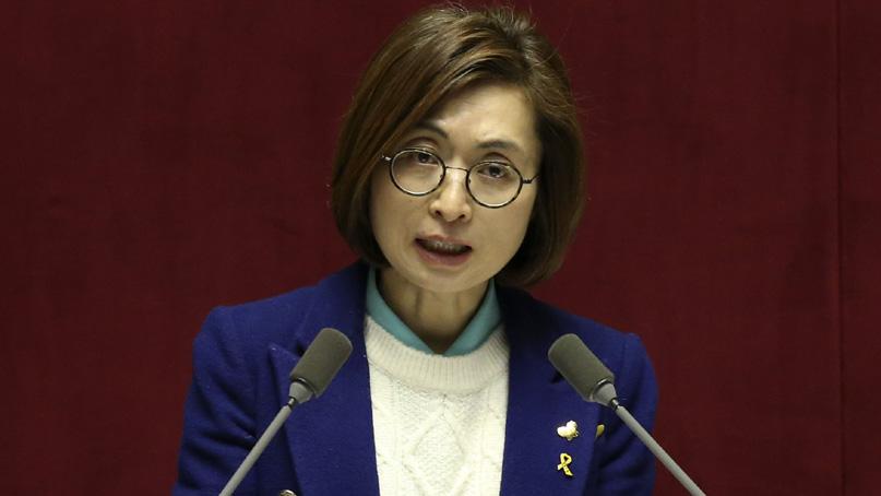 은수미 '불법 정치 자금, 한 푼도 받지 않았다'