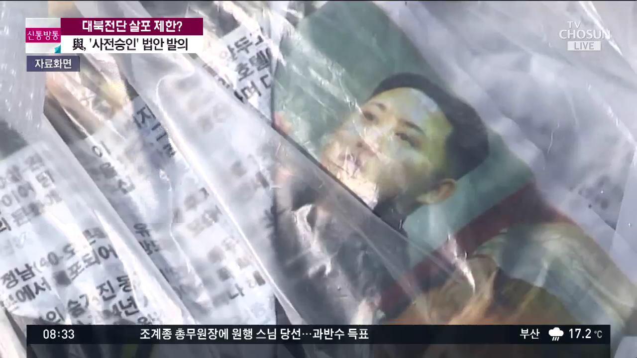 민주 '대북 전단 살포, 승인 받아야'…野 '北 비위 맞추기 법'