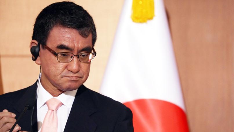 日 외무상, 외신에 한국 비난…'한국 정부와 함께 일하기 어렵다'