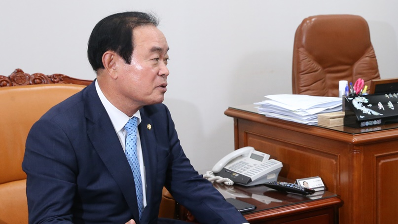 장병완 '미북고위회담 연기, 우리 정부 소외 단적으로 보여줘'