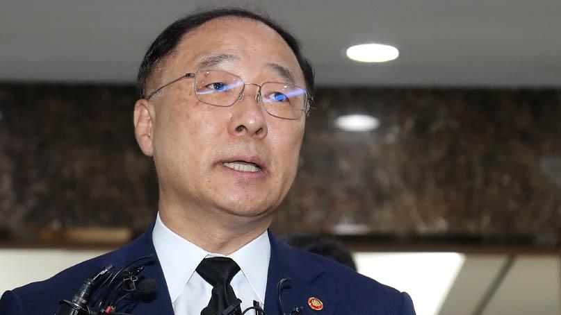 홍남기 '법인세 인상, 경제 미치는 효과 제한적'