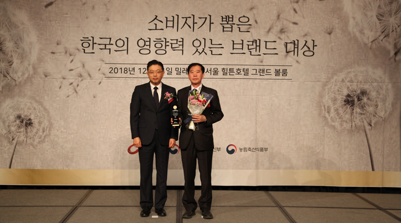 [소비자가 뽑은 한국의 영향력 있는 브랜드 대상] 코리아에프티 - 친환경자동차부품 부문