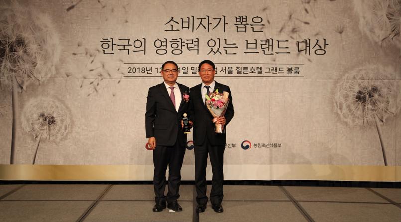[소비자가 뽑은 한국의 영향력 있는 브랜드 대상] 신일산업 - 생활가전 부문