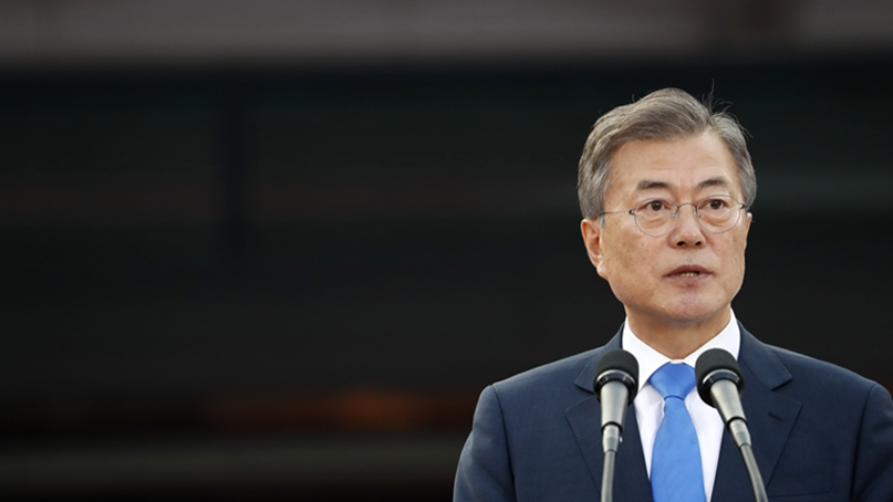 文대통령 지지율 48.1% '역대 최저'…민주당도 집권후 가장 낮아