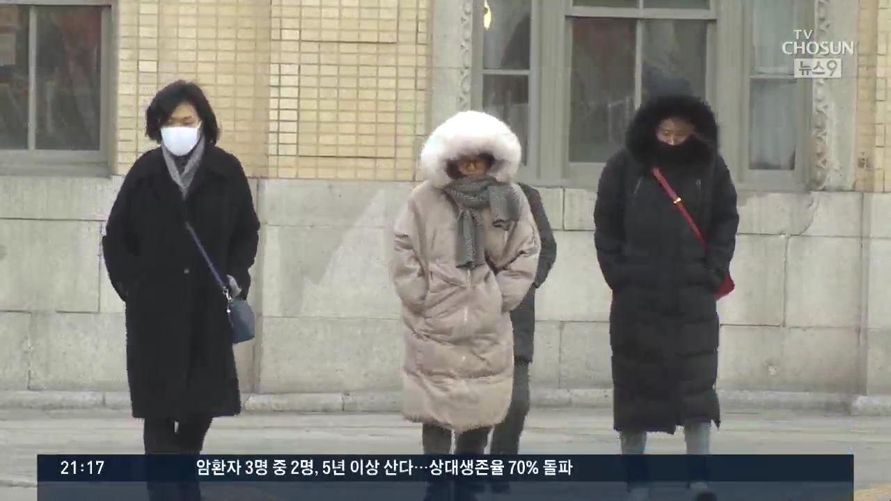 찬바람 '쌩쌩', 한낮에도 영하권…내일 더 추워 '최강 한파'
