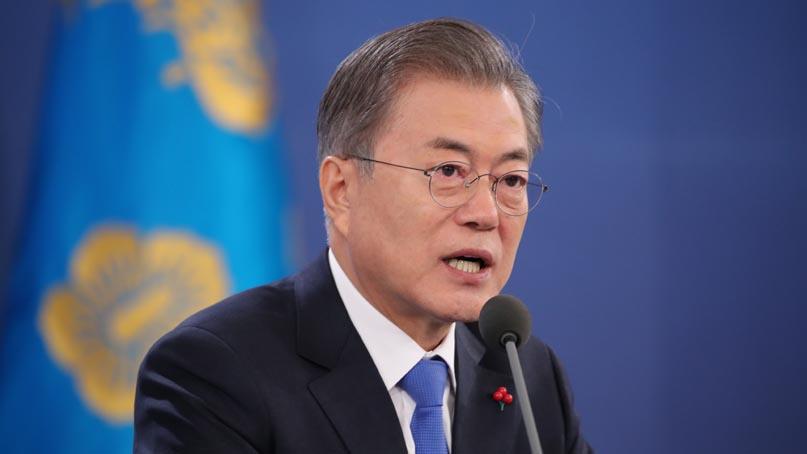 [풀영상] 문재인 대통령 신년 기자회견…10..