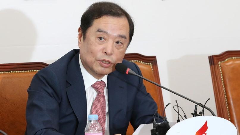 김병준, 황교안 출마 자격 논란에 '당헌·당규 가볍지 않아'