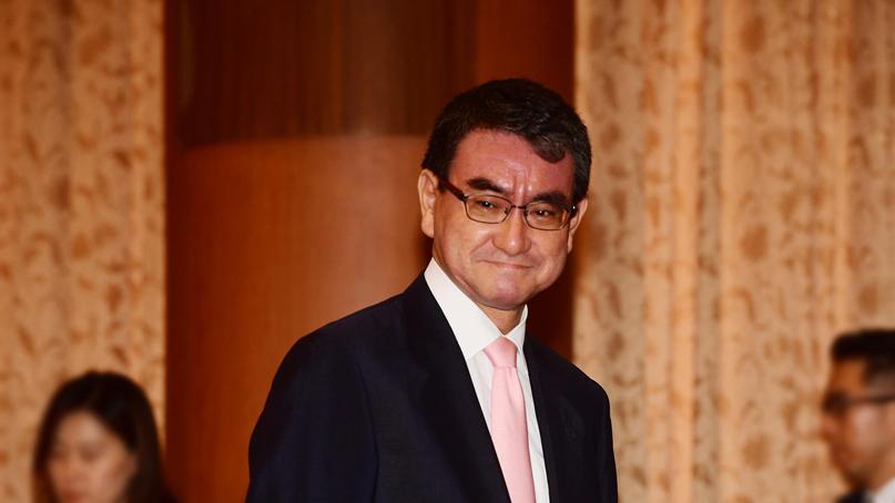 고노 日 외무상, 외교연설서 '독도는 일본 땅' 또 망언