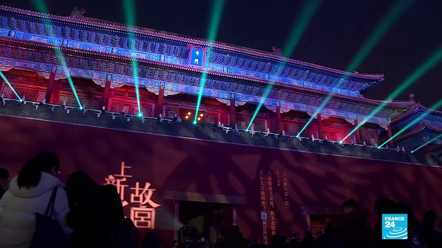 [France 24] Beijing's Forbidden city open after dark for the first time in almost a century