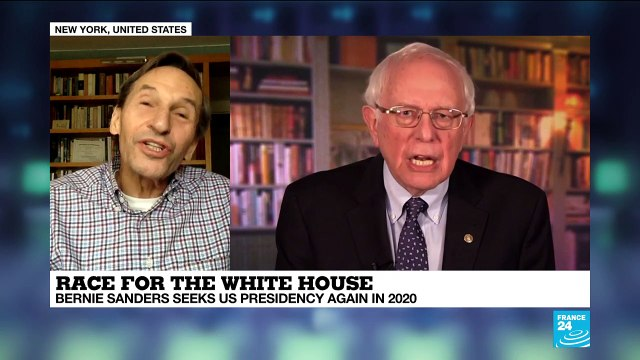 [France 24] Does Bernie Sanders have a better chance of getting the Democratic nomination?