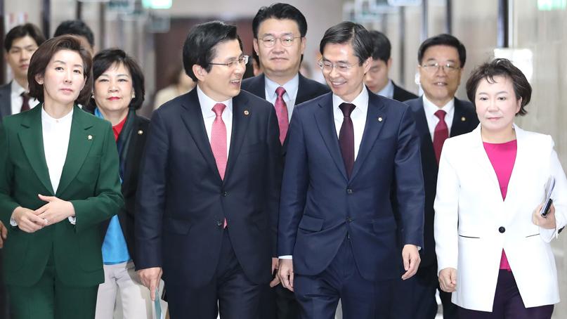 조경태 '5·18 징계 서둘러야' vs 김순례 '민주당 프레임'