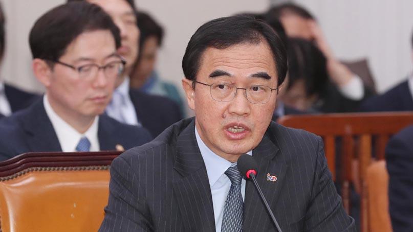 조명균 '北동창리 복구, 남북합의이행 차원서 폭파하려는 것일수도'