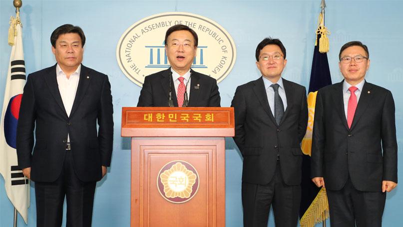 한국당 정무위원들 '보훈처, 손혜원父 자료 미제출시 고발'