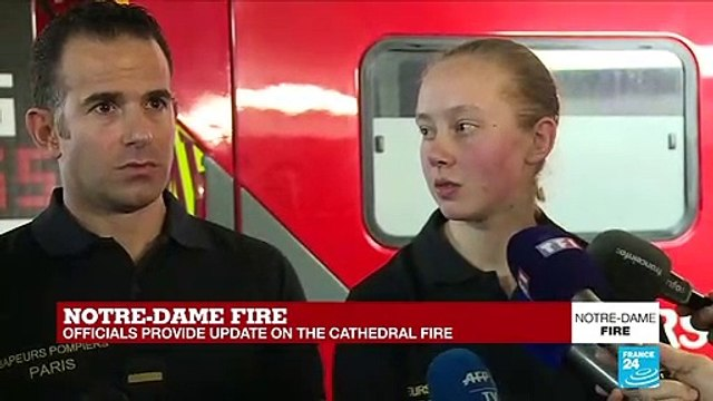 [France 24] Did the firefighters ever feel like they would not be able to contain the fire?