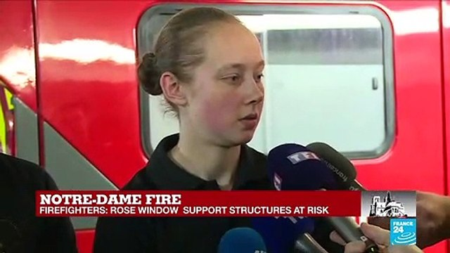 [France 24] Notre-Dame blaze: How did the firefighters deal with the heat?