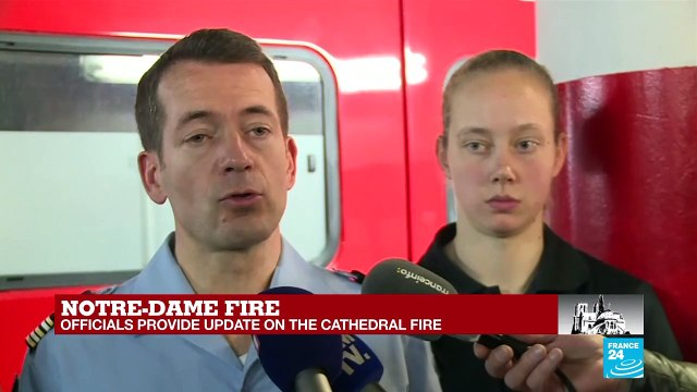 [France 24] Notre-Dame fire: Officials deny rumor about arsonist in the Cathedral