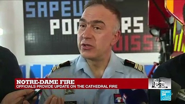 [France 24] Notre-Dame fire: 'The second you lose the belfry, you lose the entire cathedral'