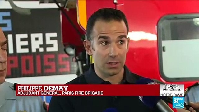 [France 24] Did the firefighters ever think they were not going to be able to contain the fire?
