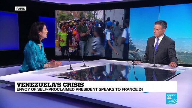 [France 24] Juan Guaido's envoy to France & Spain talks to France 24