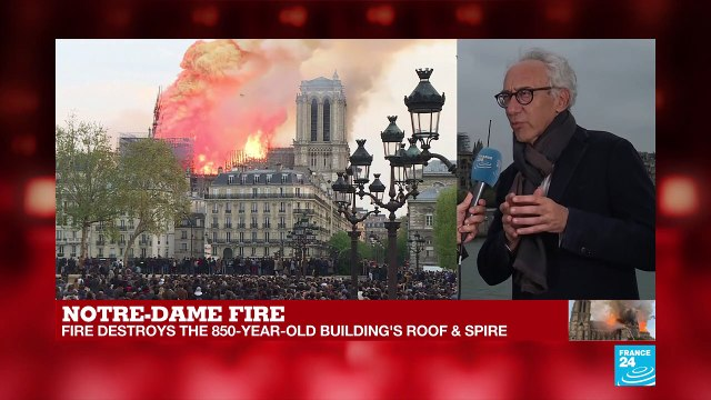 [France 24] Notre-Dame fire: how to rebuild this fantastic work of light and lightness?
