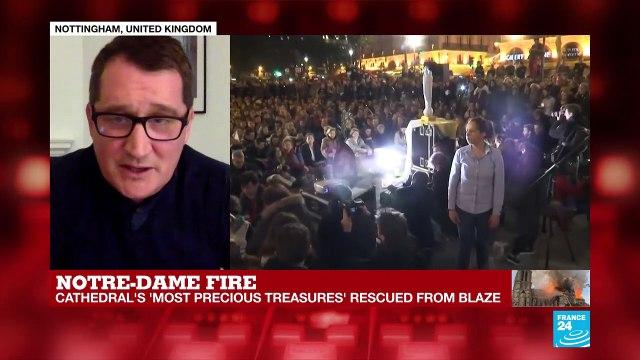 [France 24] Notre Dame - 'It's not just a Parisian monument' Chris Reynolds from Nottingham Trent University