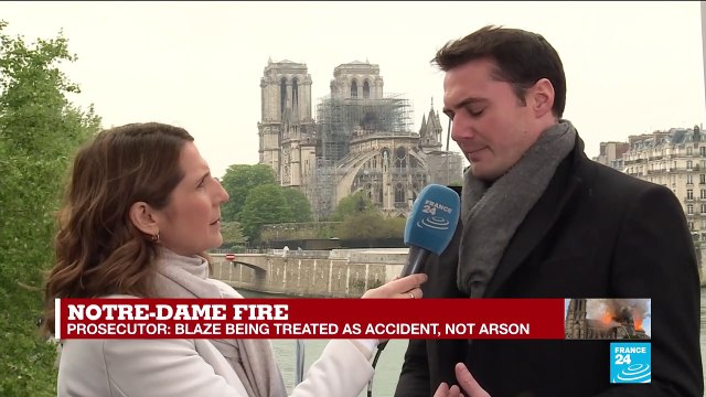 [France 24] Notre Dame fire - Alexandre Meyer : 'The Church of the global village was burning in front of us'