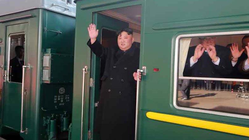 김정은, 또 열차 이용하나…中거쳐 러시아 도착 가능성
