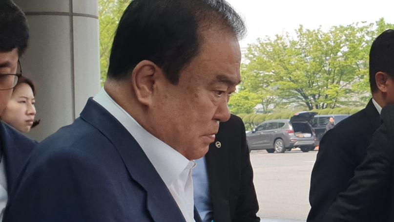 '저혈당 쇼크' 문희상 의장, 오늘 수술 예정…향후 일정 불투명