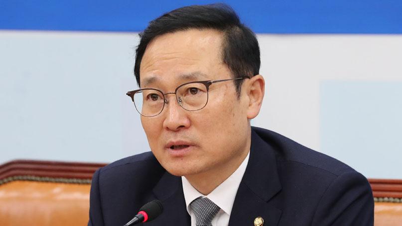 홍영표 '北발사체, 심각한 사안 아냐…대북식량지원 검토해야'