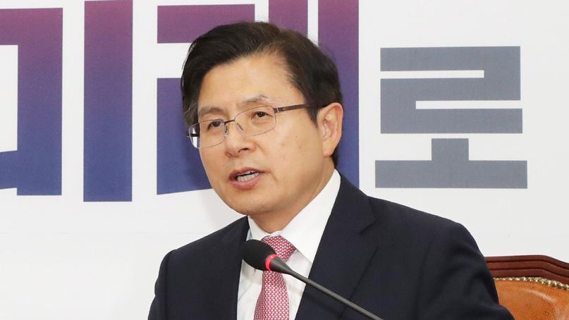 황교안 '달 대신 손가락 보는 대통령 되지 않길'…불교설화 인용