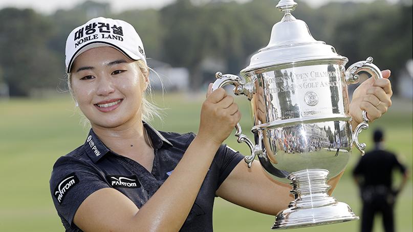 'US여자오픈 우승' 이정은, 세계 5위로 껑충