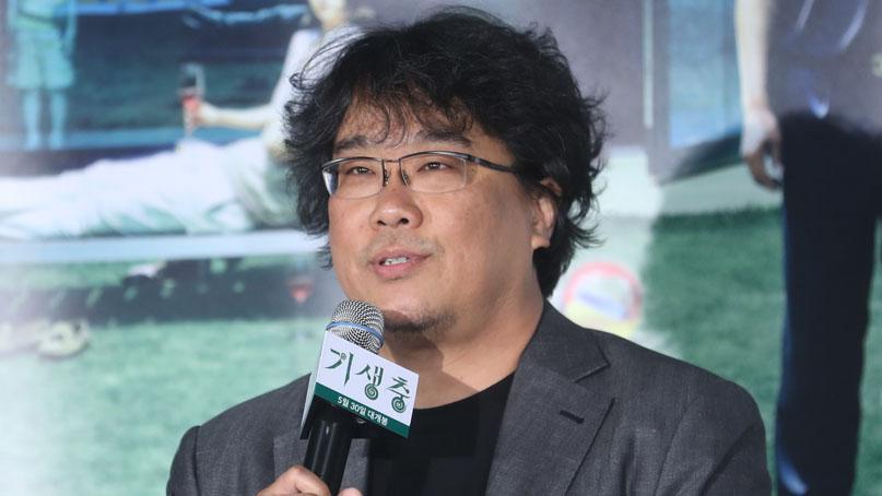 봉준호 '기생충' 시드니영화제 대상 수상