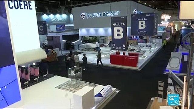 [France 24] Boeing tries to regain public's trust during Paris Airshow