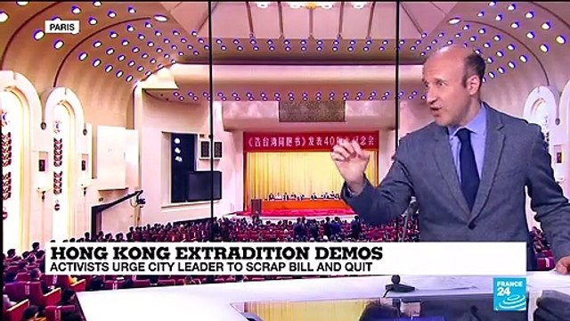 [France 24] Hong Kong protests come at difficult timing for Xi Jinping