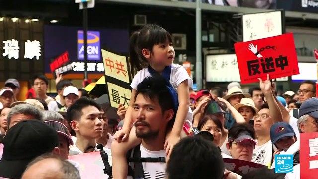 [France 24] Hong Kong leader Carrie Lam put under huge pressure