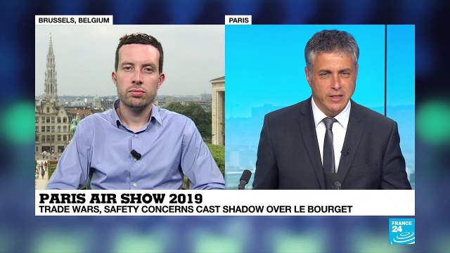 [France 24] Paris Air Show 2019: 'It's a myth that we have democratized air travel'