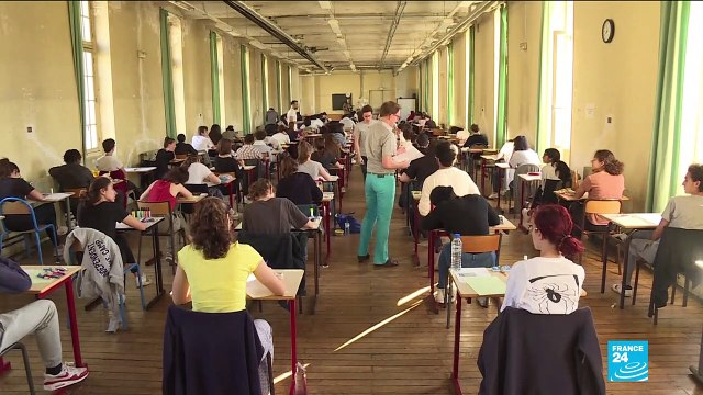 [France 24] What does French 'Bac' look like?