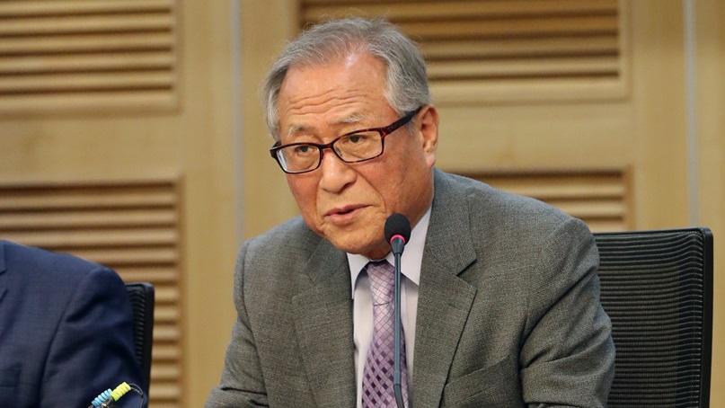 정세현 '시진핑 방북…북핵협상 4자 프로세스로 판 커져'