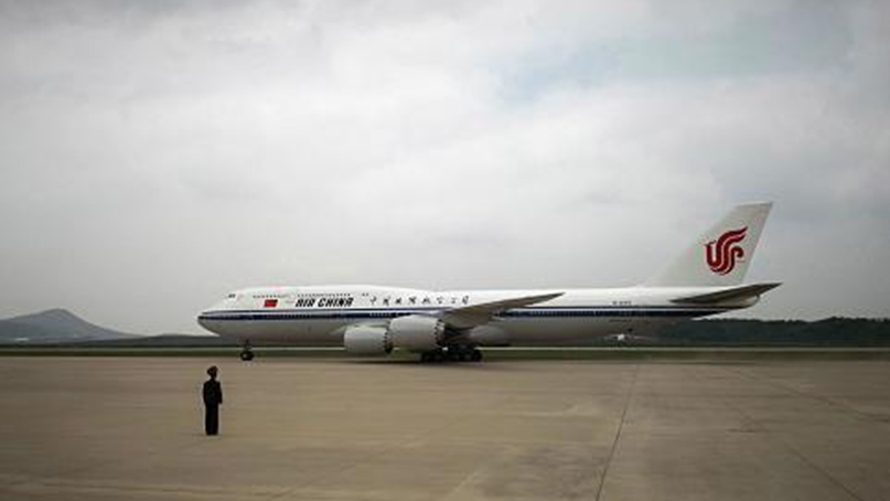 시진핑 주석 평양 도착…국빈방북 일정 시작